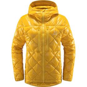 Haglöfs Roc Mimic Hood Jacket Women pumpkin yellow
